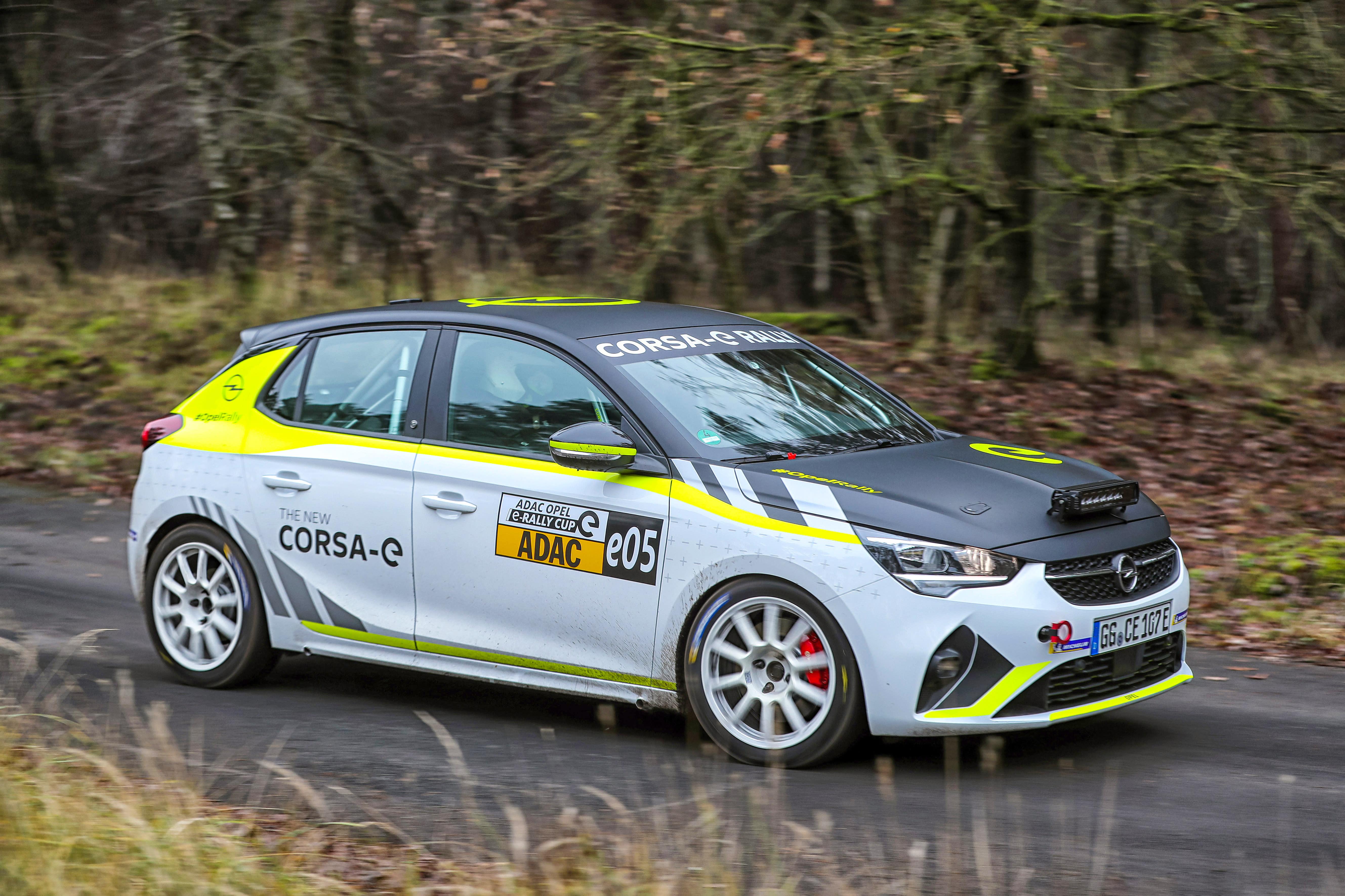 Terminänderung im ADAC Opel e-Rally Cup