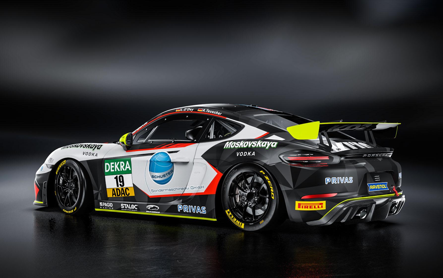 Tauscher/O'Dey für Küs Team Bernhard in ADAC GT4 Germany