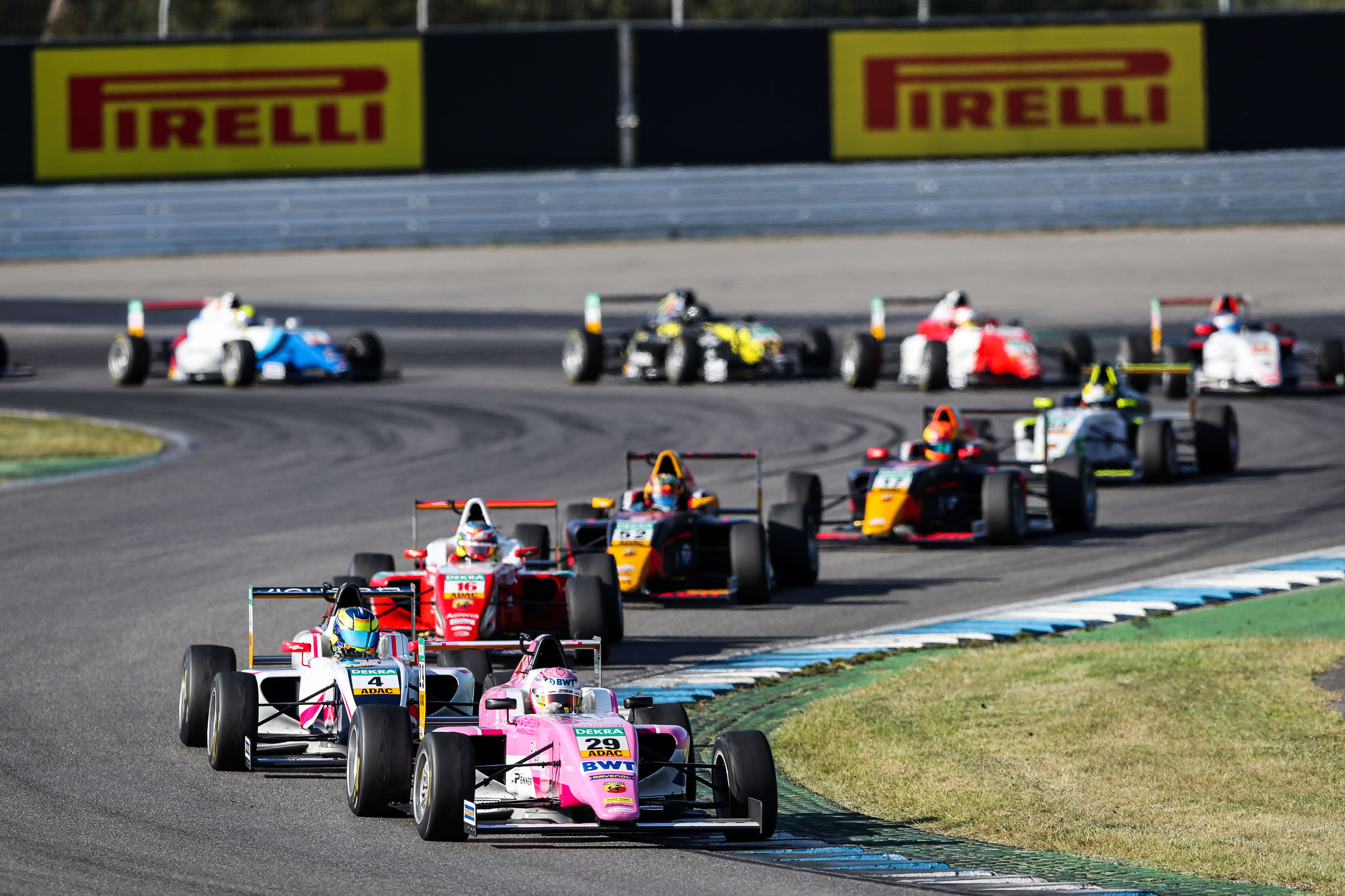 Schedule changes for ADAC Formula 4