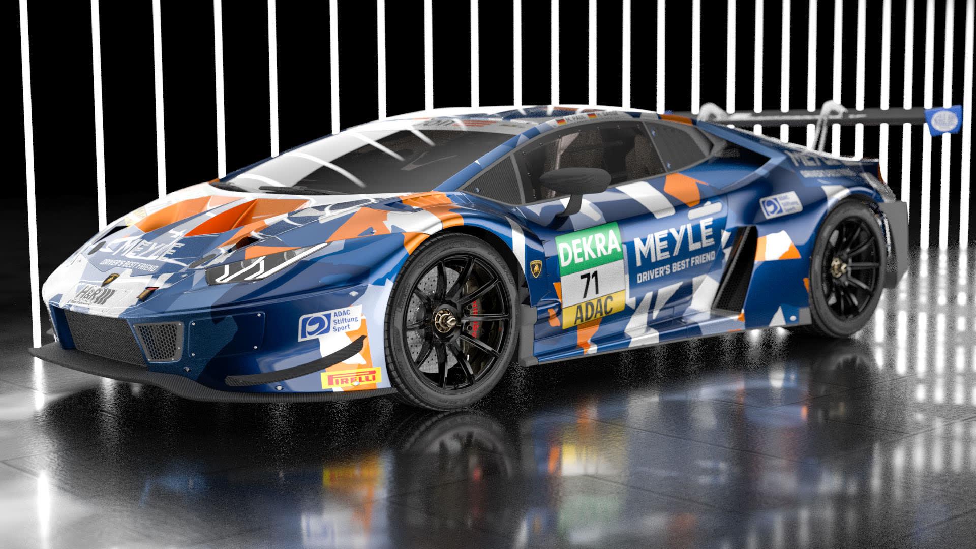 Spectacular look: the first T3 Motorsport Lamborghini