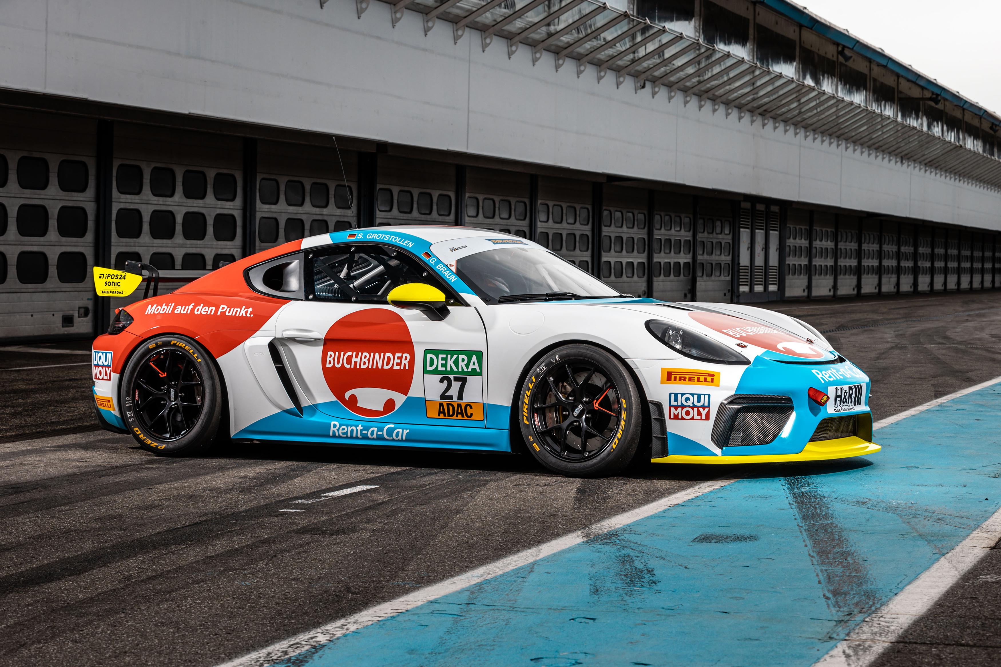 Team Buchbinder Rent-a-Car startet mit Porsche 718 Cayman