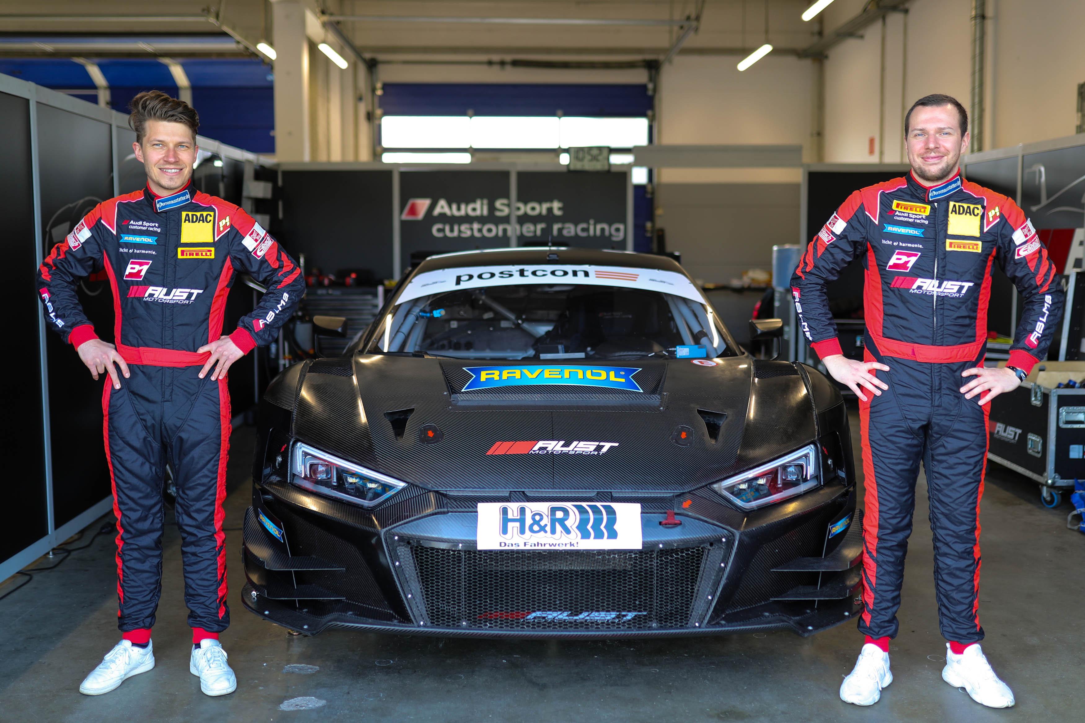 Keilwitz und Asch starten für Aust Motorsport