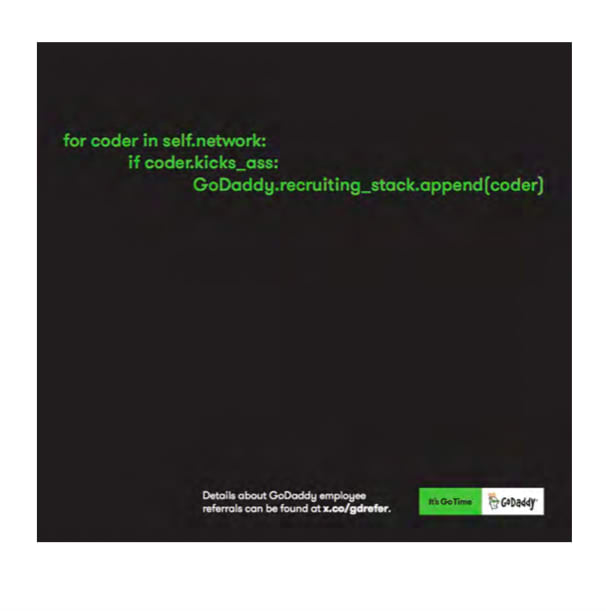 GoDaddy Employee Referral Program