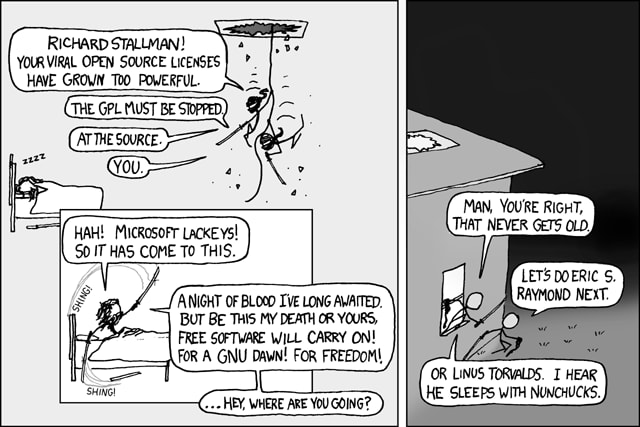 Open Source has taken over the world (xkcd)