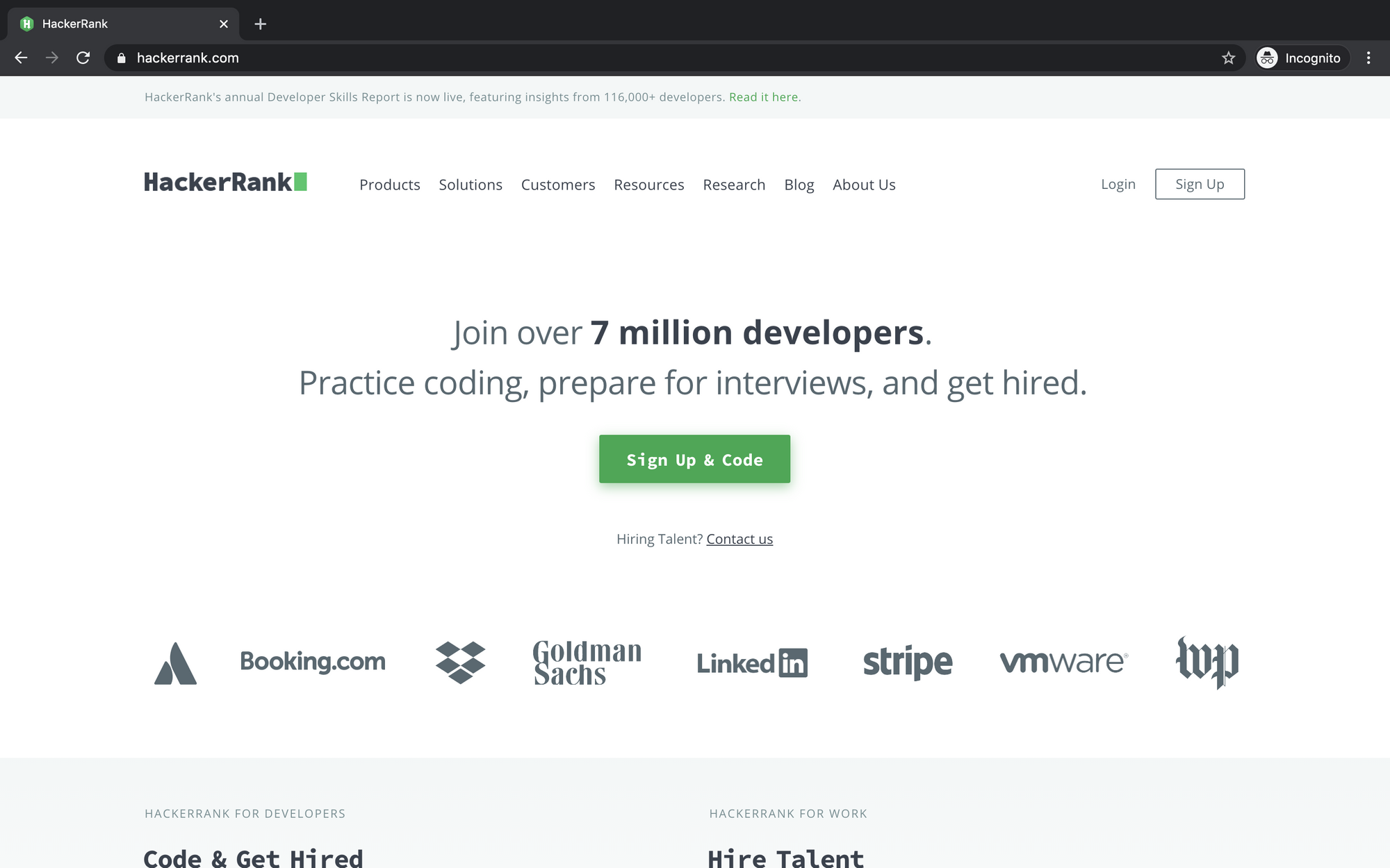 Compare HackerRank Vs Adaface