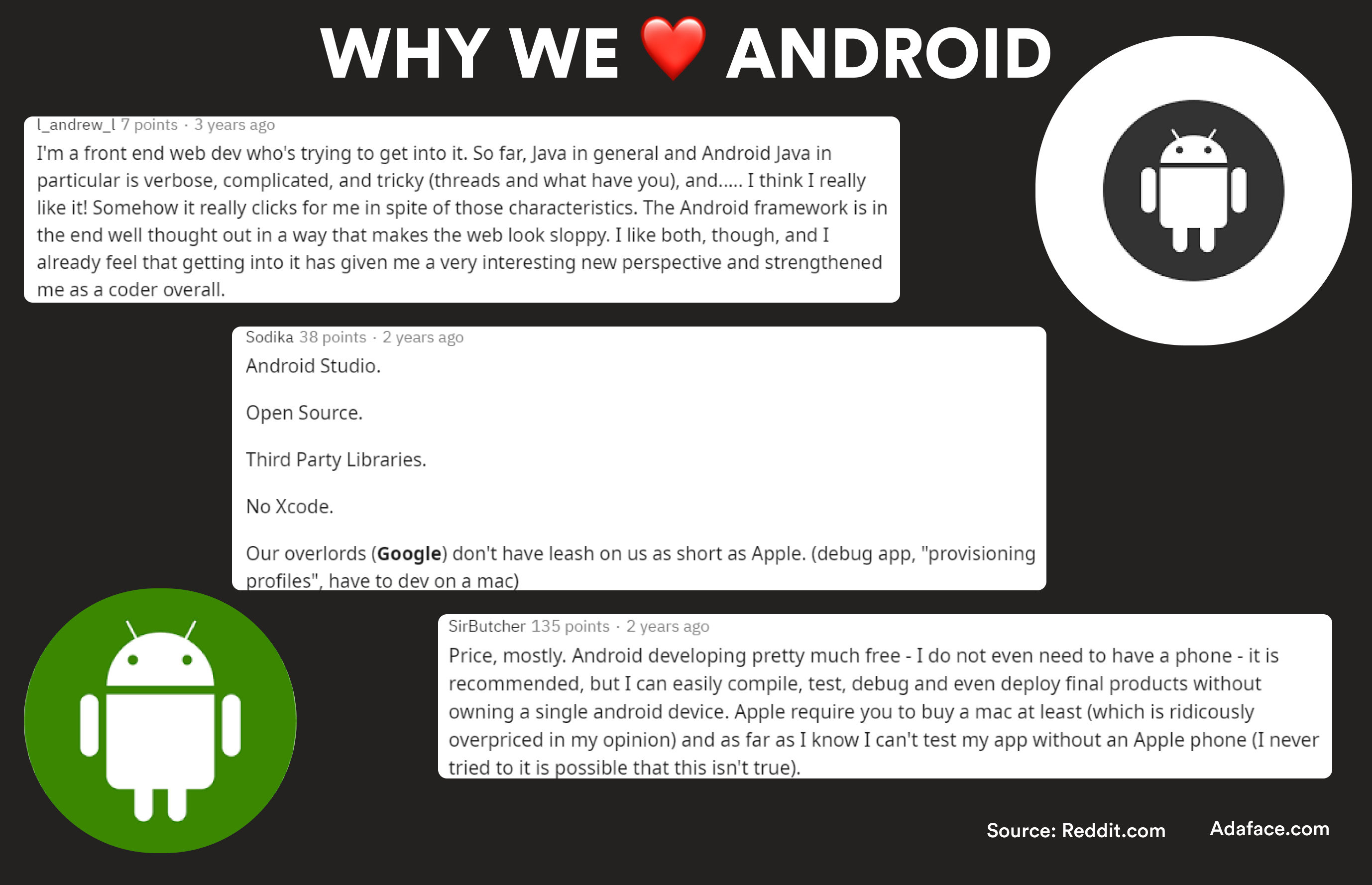 Why developers love Android? Android developer salary - Adaface salary guides