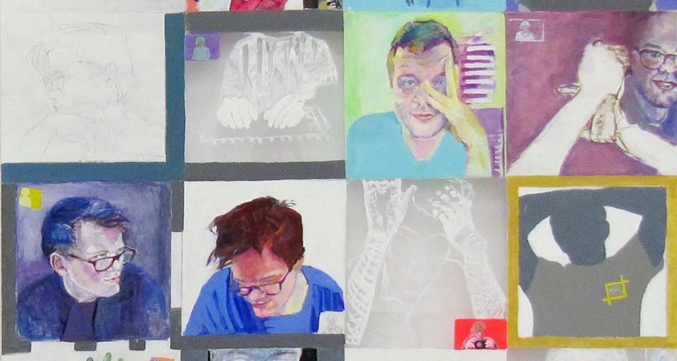 Portrait Series by Grazyna Adamska Jarecka