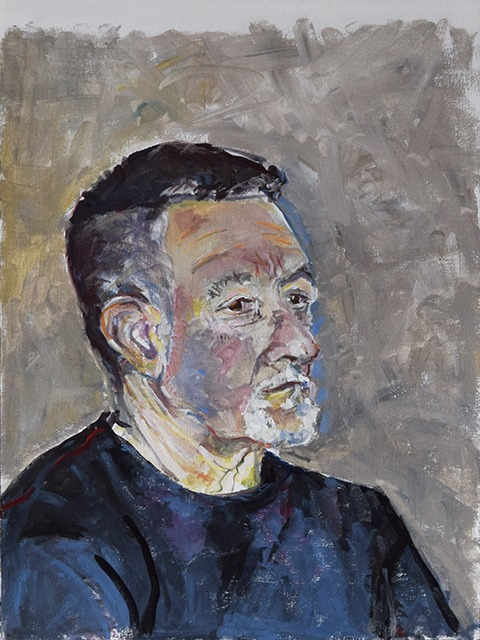 Portrait painting by Grazyna Adamska Jarecka