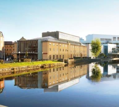 Illustration över det nya kulturkvarteret i Örebro.