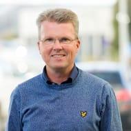 Bild på Niklas Andersson, affärschef NCC Infrastructure.