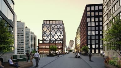 Konceptbild på Nya Sergelhuset i Stockholms city.