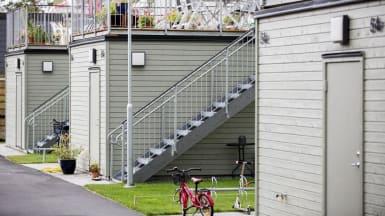 Bild på referensprojektet Design Duo, bostadsrättsföreningen Dolomiten.