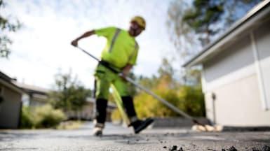 NCC microteam er spesialister på mindre asfalteringsjobber
