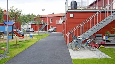 Bild på referensprojektet Design Duo, bostadsrättsföreningen Trängregementet.