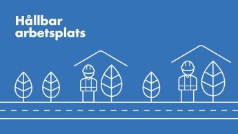Illustration: hållbar arbetsplats
