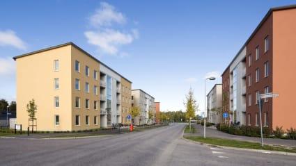 Bild på bostadsprojektet Design Quattro Lyan.