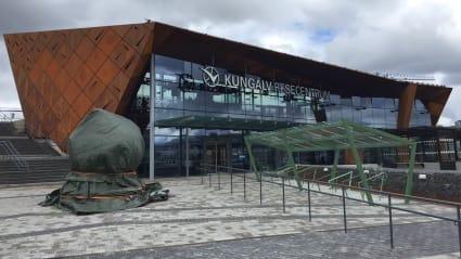 Bild på resecentrumet Kungälv.