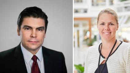 Håkan Broman och Jessica Hellner