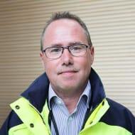 Bild på Michael Norell, produktionschef NCC Building Sweden.