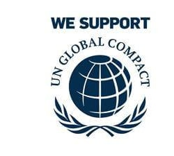 The UN global compact logo