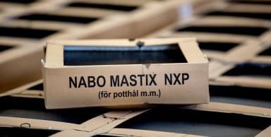 Gjustasfaltmastix Nabo NXP i förpackning.
