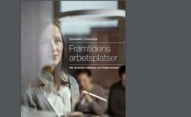 The front cover of Susanna Toivanens book, whose Swedish name translated to English is