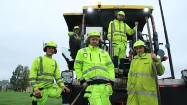 NCC hjelper deg med asfaltering