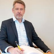 Per Stephani, President of Nybergs Entreprenad.
