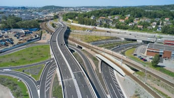 Tingstads nya trafikplats.