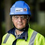 Bild på Lars Gunnar Larsson, Head of Health and Safety NCC Group.