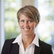 Bild på Johanna Hult Rentsch, Regionchef NCC Property Development.