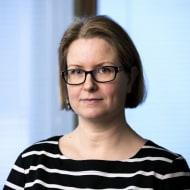 Bild på Laura Saraste-Mäkinen, Head of Communication Operation Finland, NCC Group.