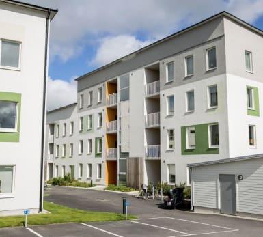 Bild på bostadsprojektet Design Quattro Ytterby.