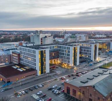 Illustration Örebro sjukhus