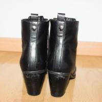 Botines negros de tacón invierno