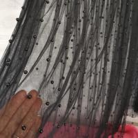 Falda de tul con perlas