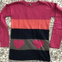 Jersey largo, colorido
