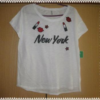 Camiseta estampados New York.