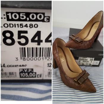 Zapato Salon Marrón