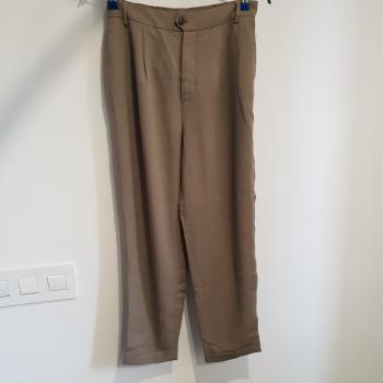 Pantalón gris, Zara, XS