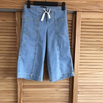 Pantalón culotte baquero