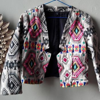 chaqueta etnica