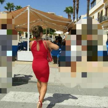 Vestido Rojo Ajustado