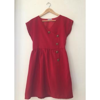 COMPAÑÍA FANTÁSTICA vestido rojo