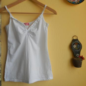 Camiseta tirantes blanca