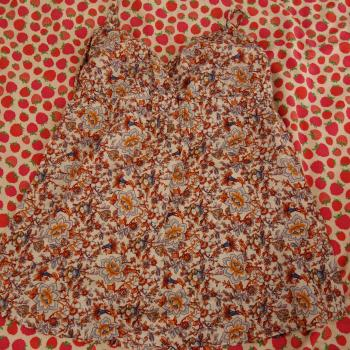 Camiseta de tirantes estampado floral