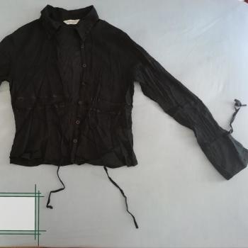 Blusas Negra & Beige 38