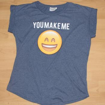 Camiseta manga corta emoji
