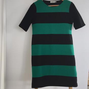 Vestido rayas verdes