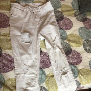 Pantalón blanco largo